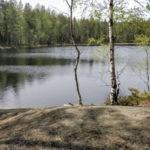 Uintireissu metsälampi sinkuille