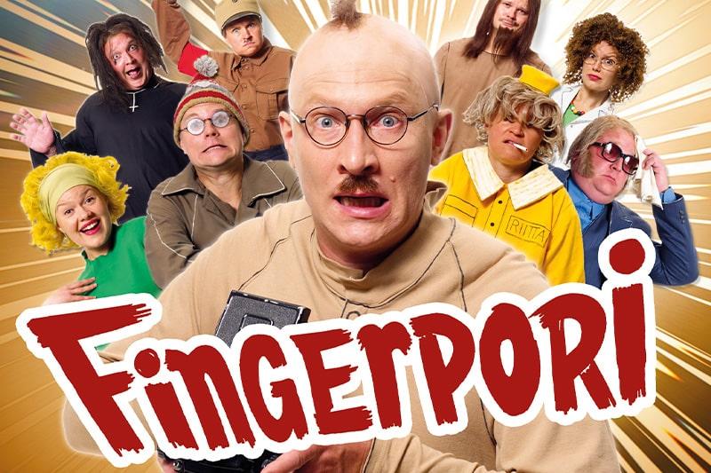 Fingerpori näytelmä